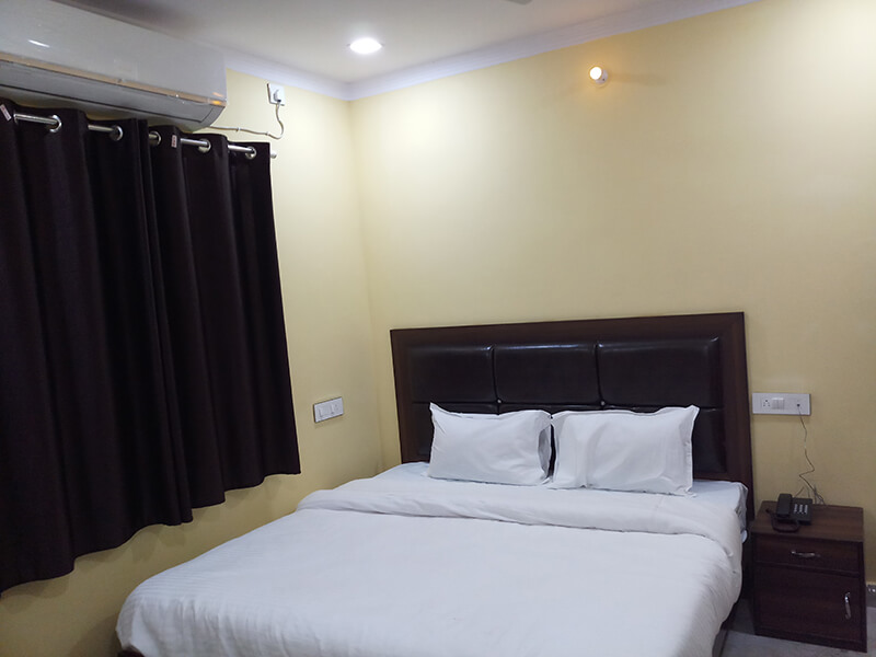 A.C Double Bedded Room 2