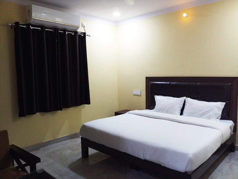 A.C Double Bedded Room 3